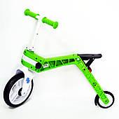 Беговел-самокат Real Baby, зелений