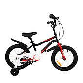 "Велосипед дитячий RoyalBaby Chipmunk MK 16"", OFFICIAL UA, чорний"