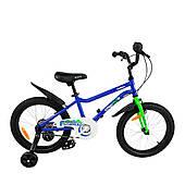 "Велосипед дитячий RoyalBaby Chipmunk MK 18"", OFFICIAL UA, синій"