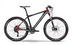 """Велосипед Haibike Light SL 26"""", рама 49см, Carbon, чорний-сіро-червоний, 2016"""