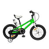 "Велосипед RoyalBaby FREESTYLE 16"", OFFICIAL UA, зелений"