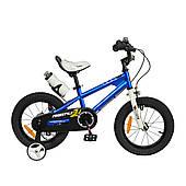 "Велосипед RoyalBaby FREESTYLE 16"", OFFICIAL UA, синій"