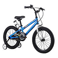 "Велосипед RoyalBaby FREESTYLE 18"", OFFICIAL UA, синий, фото 1"