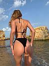 Купальник жіночий бікіні на зав'язках  Truffle, фото 3
