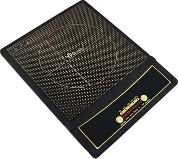 Індукційна плита електрична одноконфорочная настільна Domotec MS-5832 маленька електроплитка (NS)