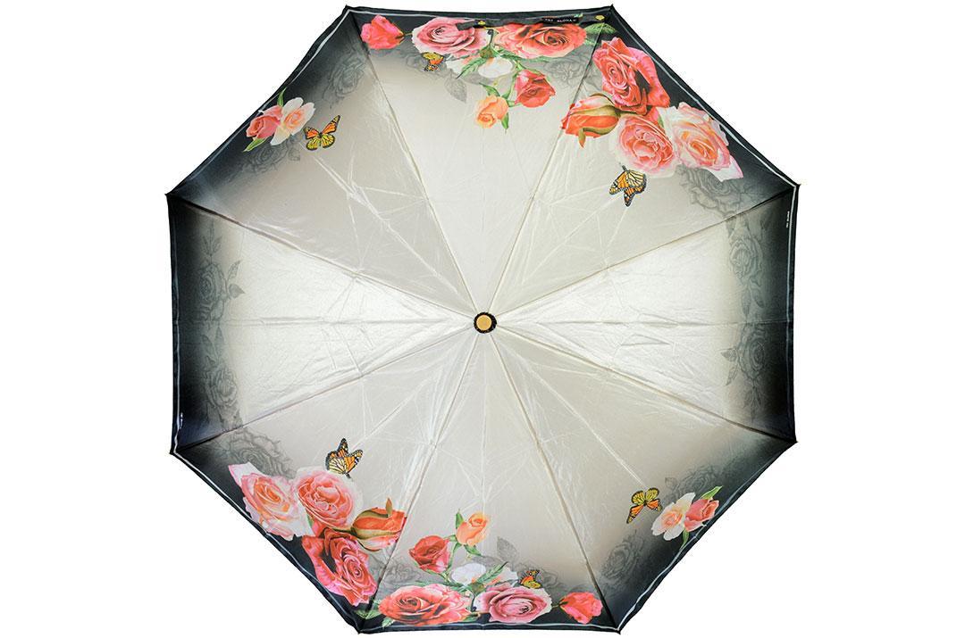 Жіноча парасолька Три Слони ( повний автомат ) арт. L3825-04