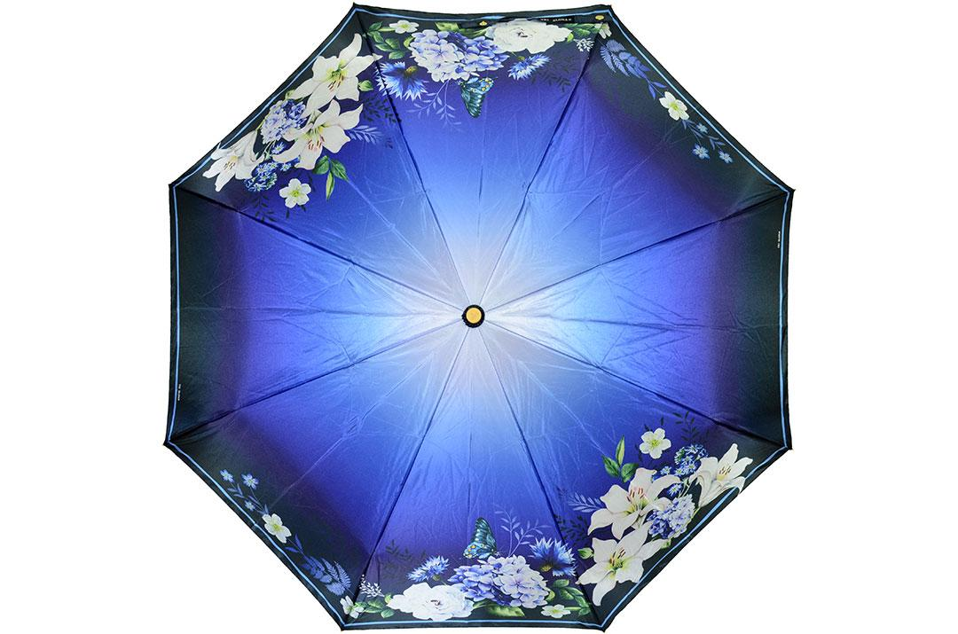 Жіноча парасолька Три Слони ( повний автомат ) арт. L3825-05