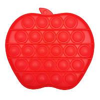 "Іграшка-антистрес ""POP-IT"" PPT-A(Red) Яблуко"