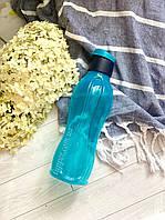 Пляшка 750 мл Tupperware синя з клапаном