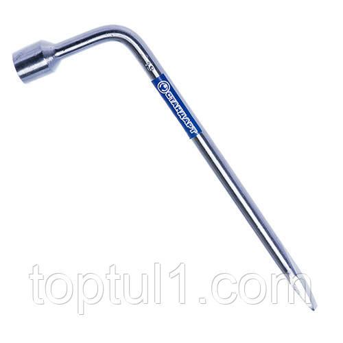 Ключ балонний торцевій з лопаткою 21 мм СТАНДАРТ KB21ST