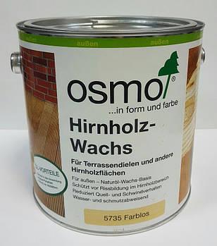 Воск защита для герметизации торцов древесины OSMO HIRNHOLZ – WACHS 5735 бесцветный 2.5