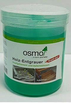 Гель для видалення сірого шару деревини OSMO KRAFT GEL Holz – Entgrauer 6609 безбарвний зелений
