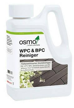Засіб для очищення терасної дошки з деревинно–полімерного композиту OSMO WPC&BPC REINIGER 8021 безбарвний