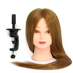 Учебный манекен с натуральными волосами