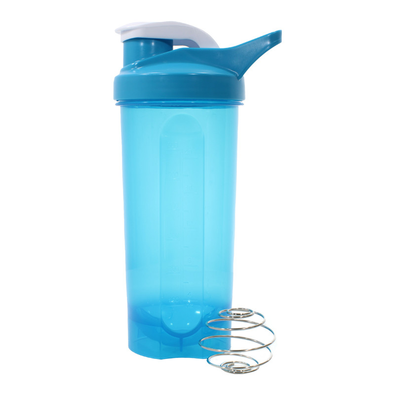 Спортивна пляшка Lesko HC45 для води енергетичних коктейлів 600 ml Blue (4904-14402a)