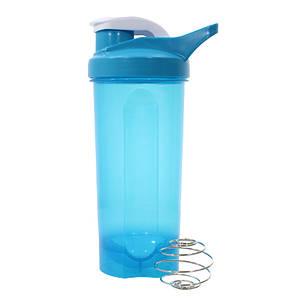 Спортивна пляшка Lesko HC45 для води енергетичних коктейлів 600 ml Blue (4904-14402a), фото 2