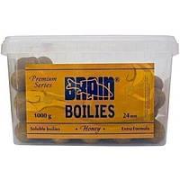 Honey Soluble 1000gr 24mm бойлы Brain