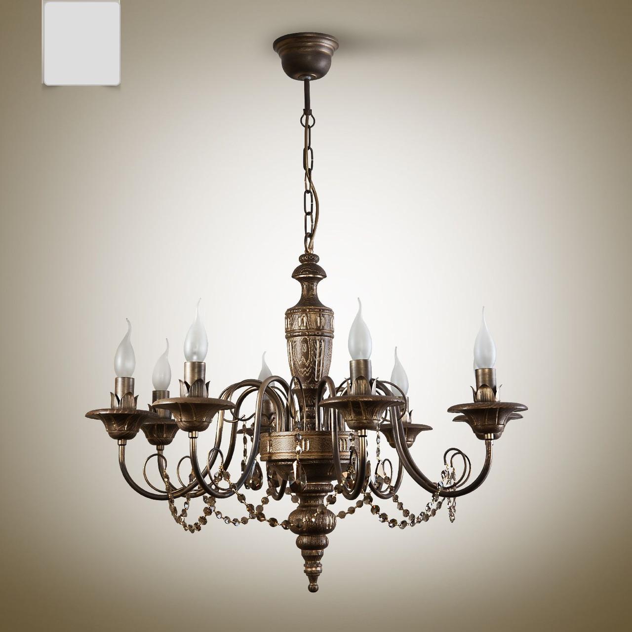 Люстра для большой комнаты для зала, гостиной, холла.  18008