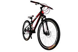 "TitanBike Велосипед Titan Forest 26""13"" Чёрный-Красный-Белый"