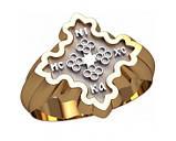 Кольцо серебряное Православное 30289, фото 2