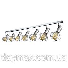Світильник лофт MSK Electric Diadem стельовий NL 22151-7 CR
