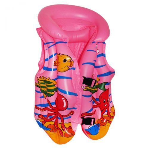 Жилет надувной, розовый BT-IG-0003