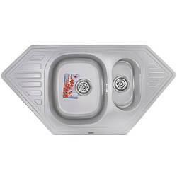 Мойка кухонная HAIBA 100x50 (satin) (HB0524)