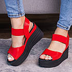 Женские сандалии Fashion Batista 3087 36 размер 23 см Красный, фото 2