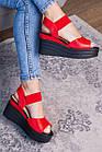 Женские сандалии Fashion Batista 3087 36 размер 23 см Красный, фото 3