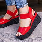 Женские сандалии Fashion Batista 3087 36 размер 23 см Красный, фото 4