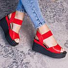 Женские сандалии Fashion Batista 3087 36 размер 23 см Красный, фото 5