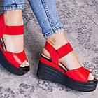 Женские сандалии Fashion Batista 3087 36 размер 23 см Красный, фото 6