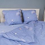 Комплект постельного белья Le Confort «Одуванчик на голубом» 180x220 Бязь, фото 2