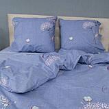 Комплект постельного белья Le Confort «Одуванчик на голубом» 180x220 Бязь, фото 4