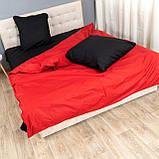 Комплект постельного белья Le Confort «Красно-чёрный»180x220 Бязь, фото 2