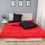 Комплект постельного белья Le Confort «Красно-чёрный»180x220 Бязь, фото 3