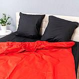 Комплект постельного белья Le Confort «Красно-чёрный»180x220 Бязь, фото 4