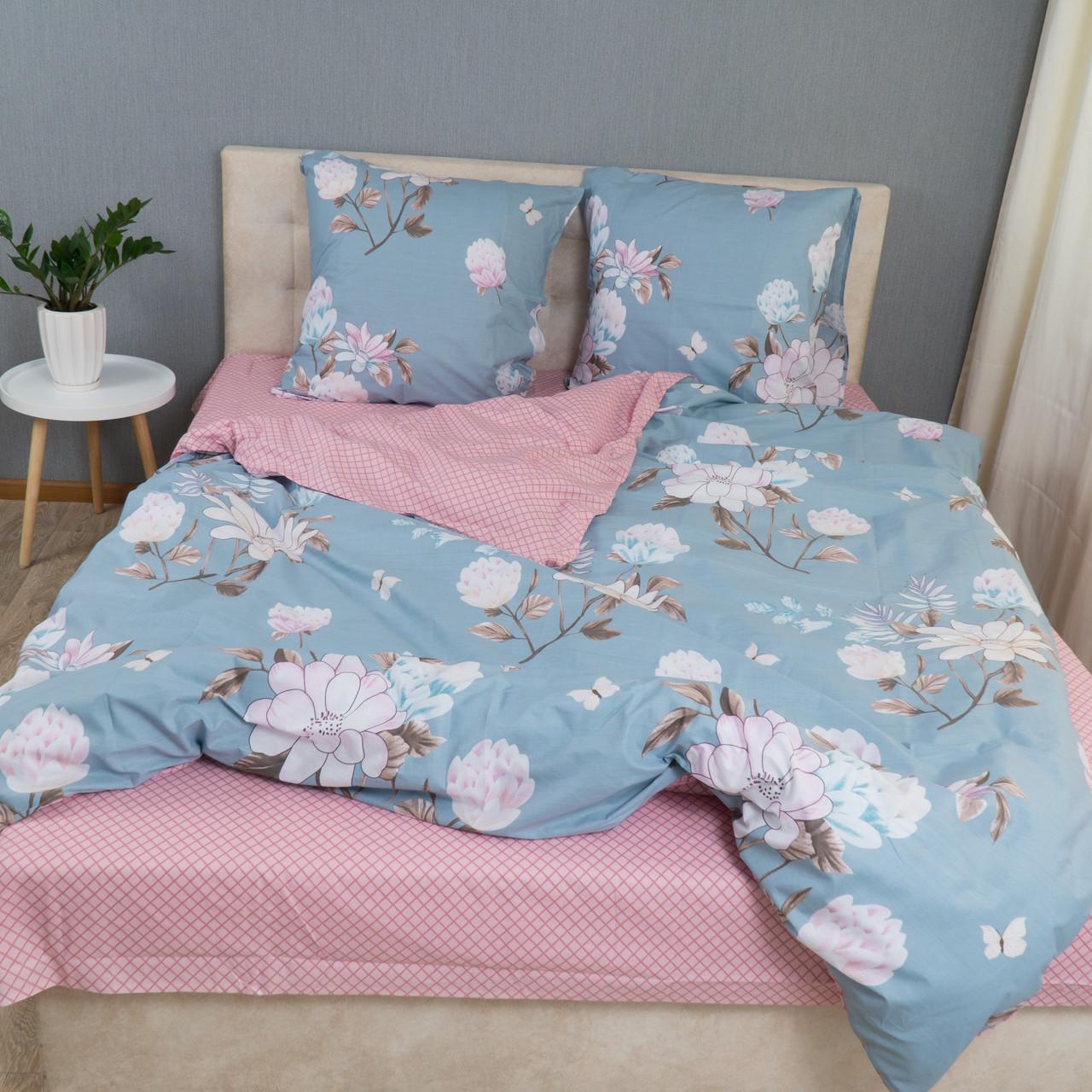 Комплект постельного белья Le Confort «Нежные цветы» 200x220 Бязь