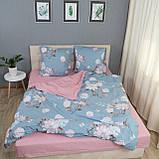 Комплект постельного белья Le Confort «Нежные цветы» 200x220 Бязь, фото 4