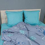 Комплект постільної Le Confort Кульбабки на сірому Двоспальний, фото 3