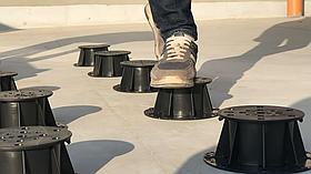 Регулируемая опора Karoapp (133-225 мм) (K-A4) (Фальшпол, Опора для лаги и керамогранита )