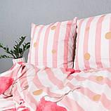 Комплект постільної Le Confort Рожеві фламінго Двоспальний, фото 4