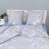 Комплект постільної Le Confort Фіолетові квіти Полуторний, фото 2