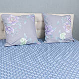 Комплект постільної Le Confort Фіолетові квіти Полуторний, фото 3