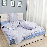 Комплект постільної Le Confort Фіолетові квіти Полуторний, фото 4