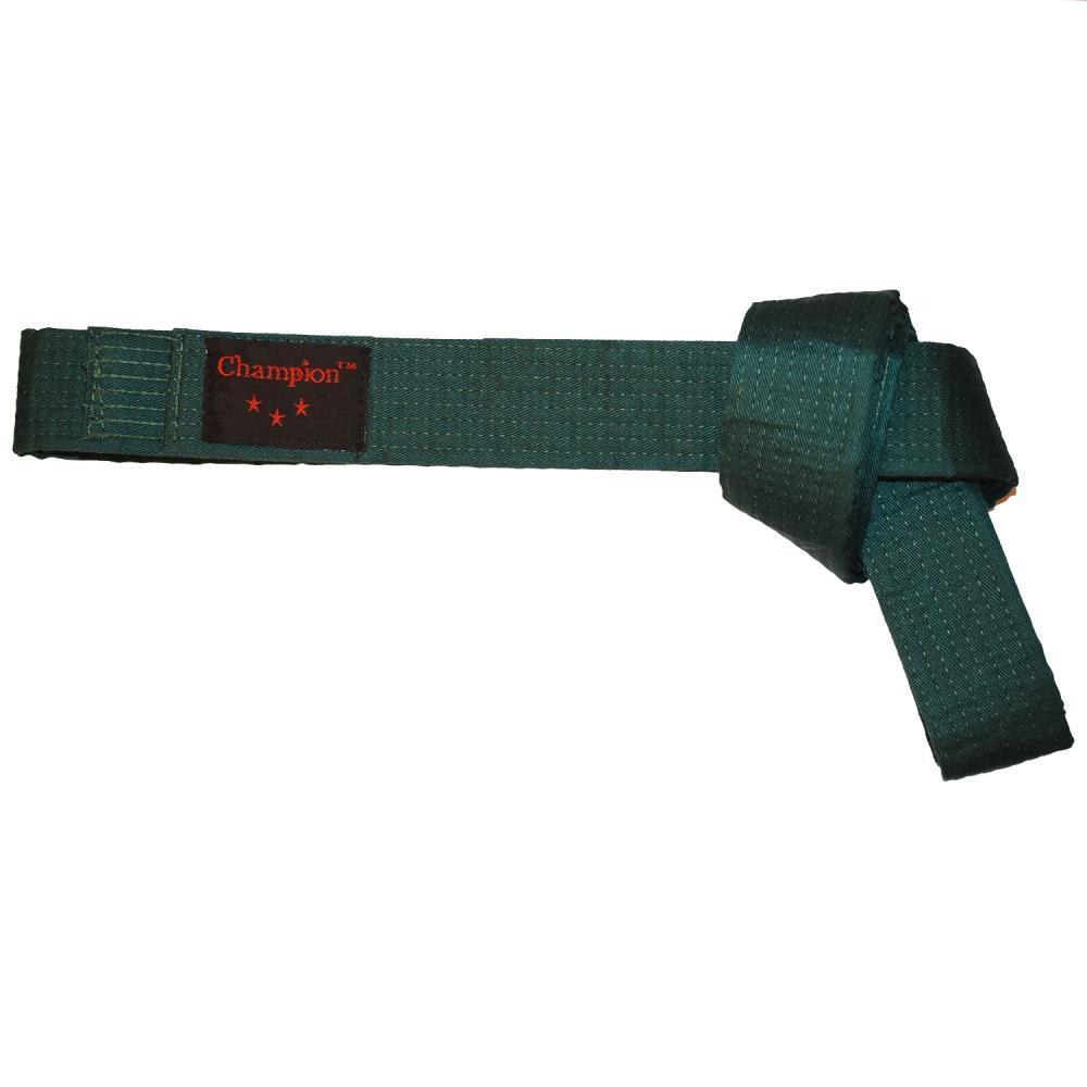 Пояс для кимано Champion зеленый 280 см