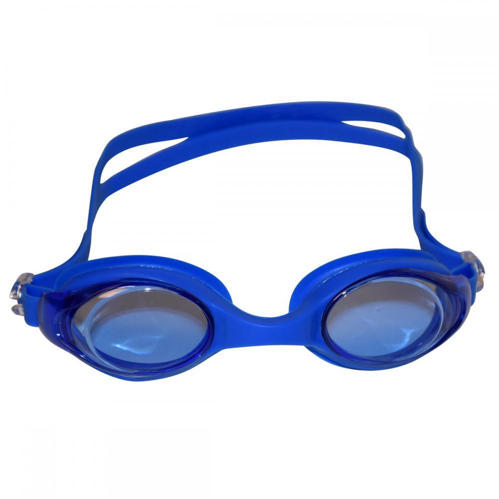 Окуляри для плавання підліткові J8220-6. Колір синій.