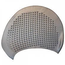 Шапочка для плавання на довгі волосся GP-003-gray