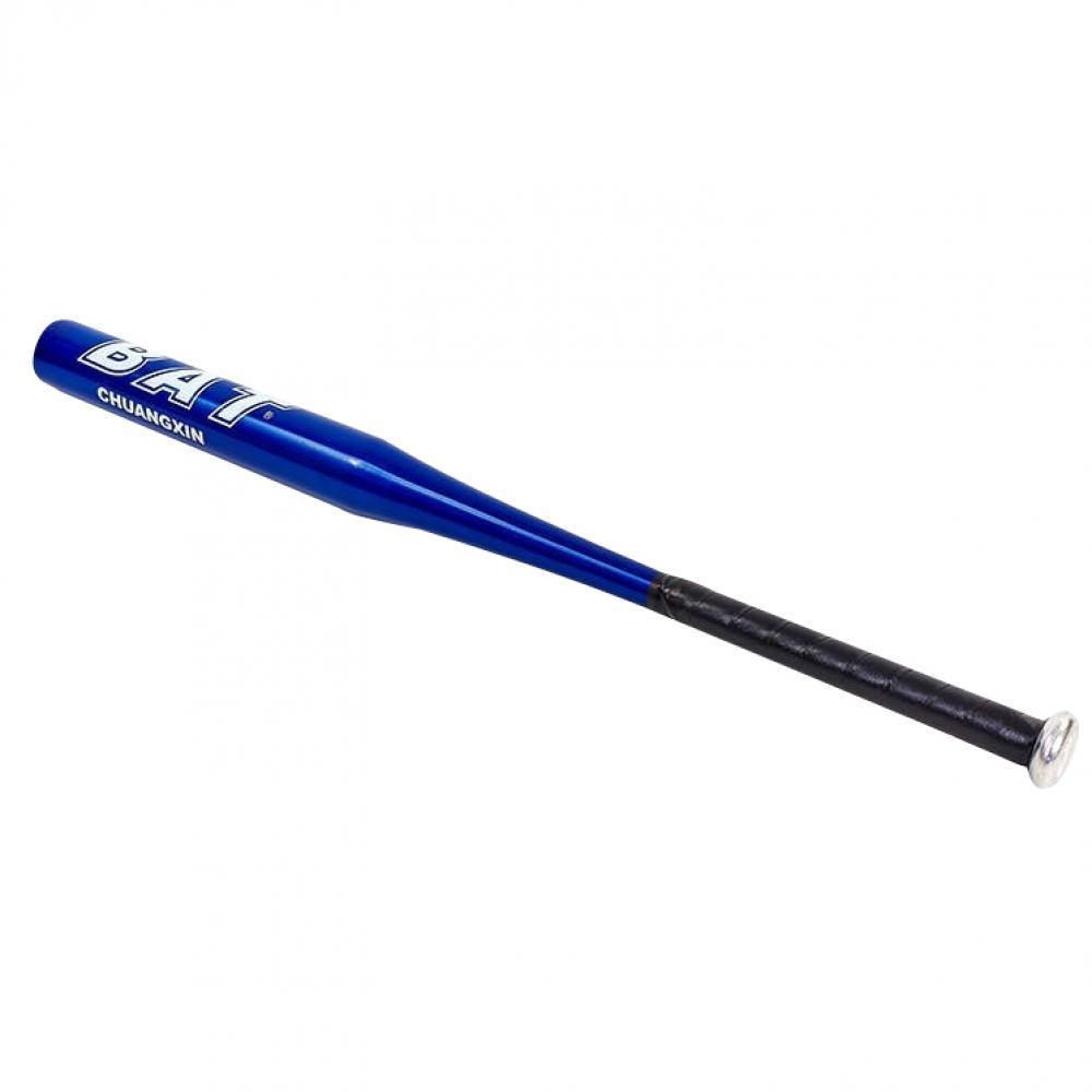 Бита бейсбольная алюминиевая 76см, цвет синий
