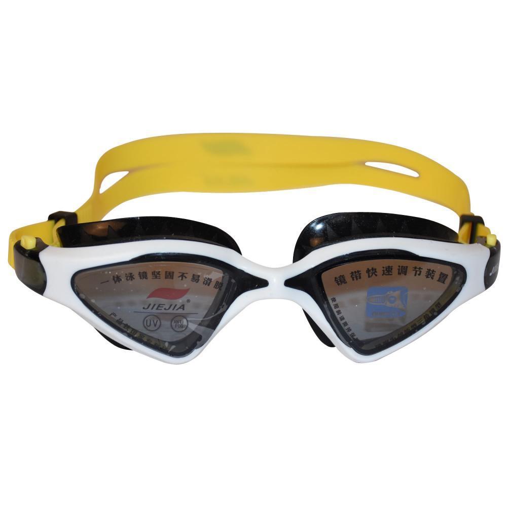 Очки для плавания JIEJIA черно-белый